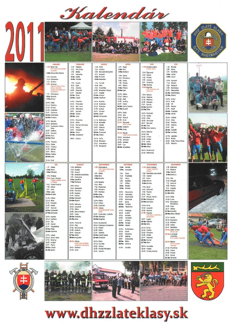 Kalendár 2011