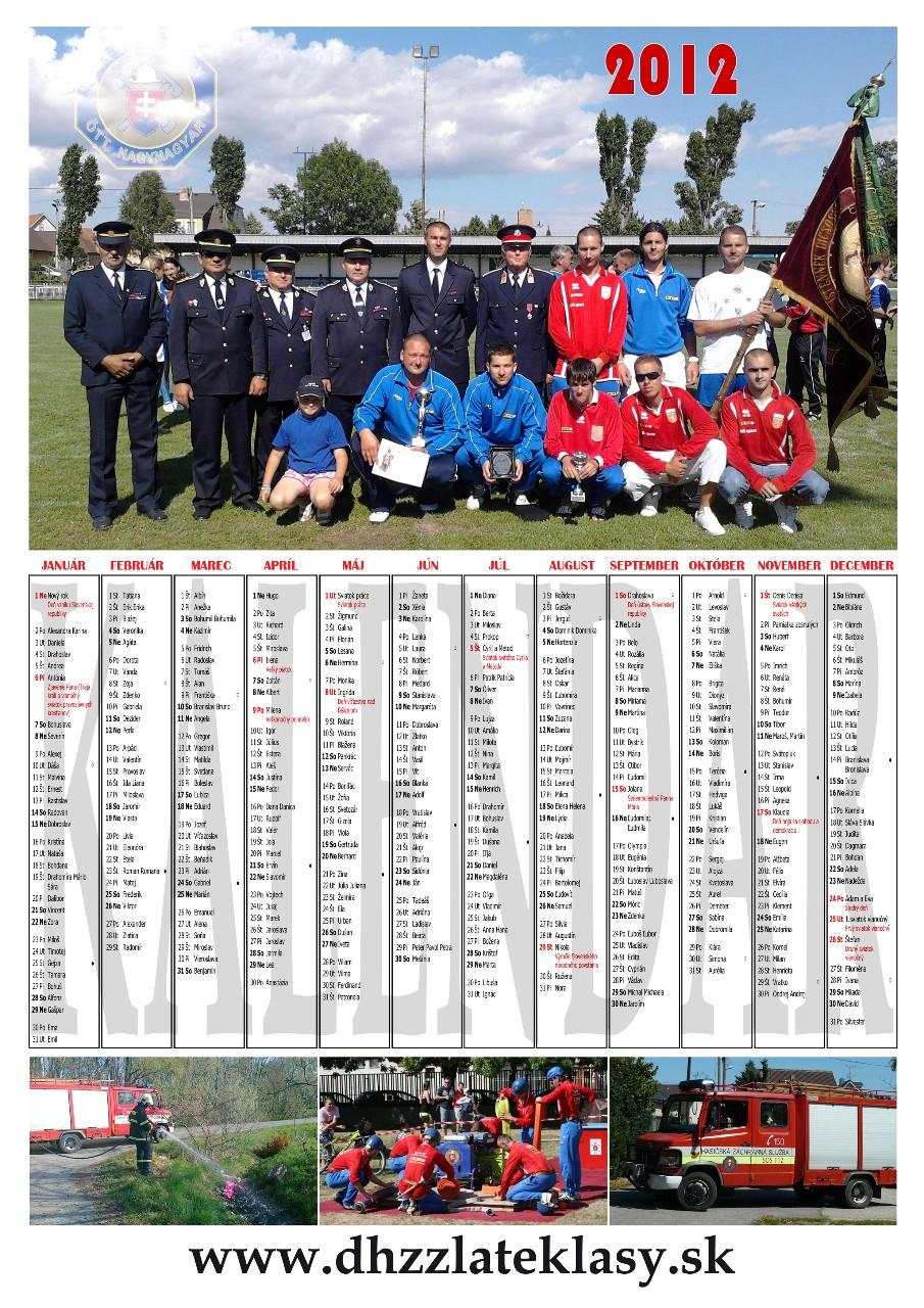 Kalendár 2012